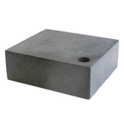 31713 - Small Granite Surface Plate with Integrated Tool Hole