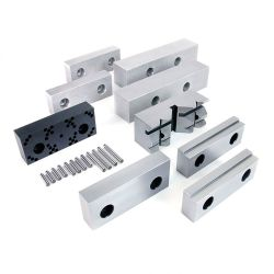 32106 - Professional Vise Jaw Set w/ Pin Jaw