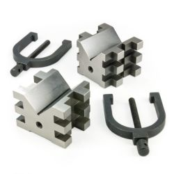 33243 - 90° V-Block / Clamp Set