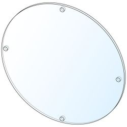 34435 - Enclosure Light Window