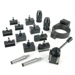 37176 - 0XA Tool Holder Kit for RapidTurn Deluxe Package