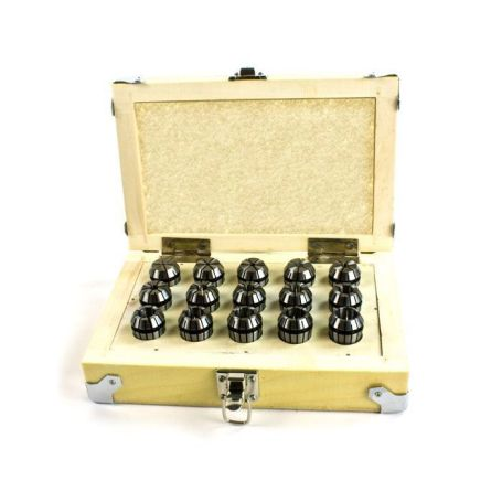 ER20 Collet Set (15 Pcs.)