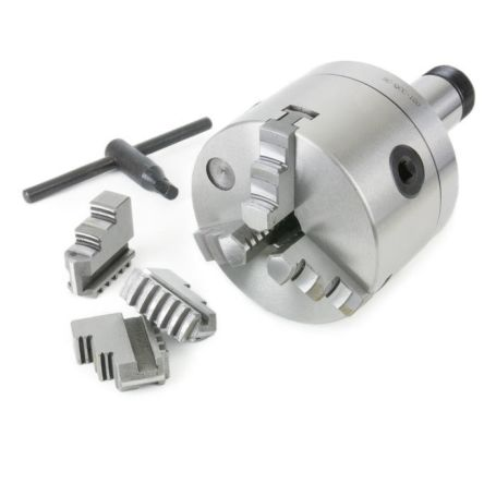 4 in. Precision 3-Jaw Chuck (5C Mount)