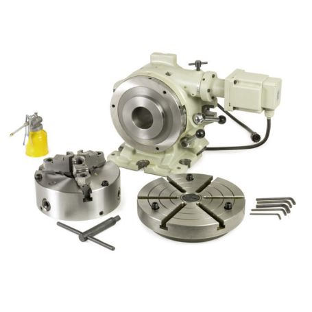 8 in. Super Spacer Motorized Rotary Table