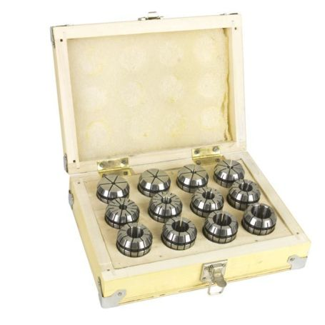 Metric ER32 Collet Set (12 Pcs.)
