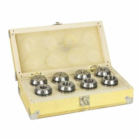 Metric ER40 Collet Set (8 Pcs.)