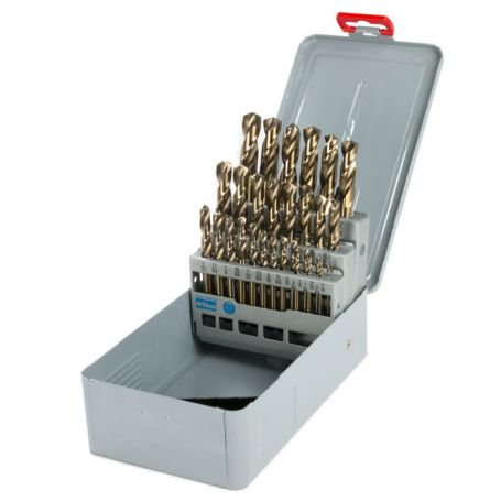 1/16 in. - 1/2 in. Machine Length Drill Set