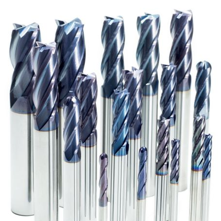 End Mill Kit for Steel #1