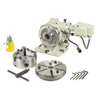 33089 - 6 in. Super Spacer Motorized Rotary Table