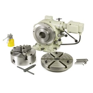 33264 - 8 in. Super Spacer Motorized Rotary Table