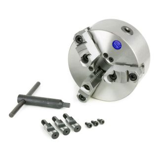 33156 - 3-Jaw Reversible 6 in. Lathe Chuck (D1 Type Direct Mount)