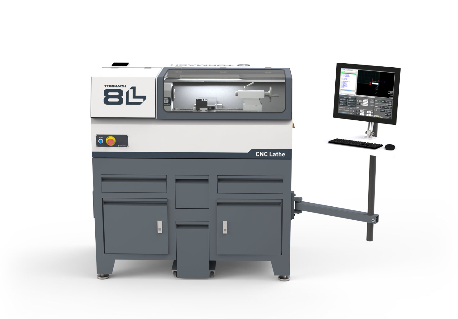 The New 8L Lathe from Tormach