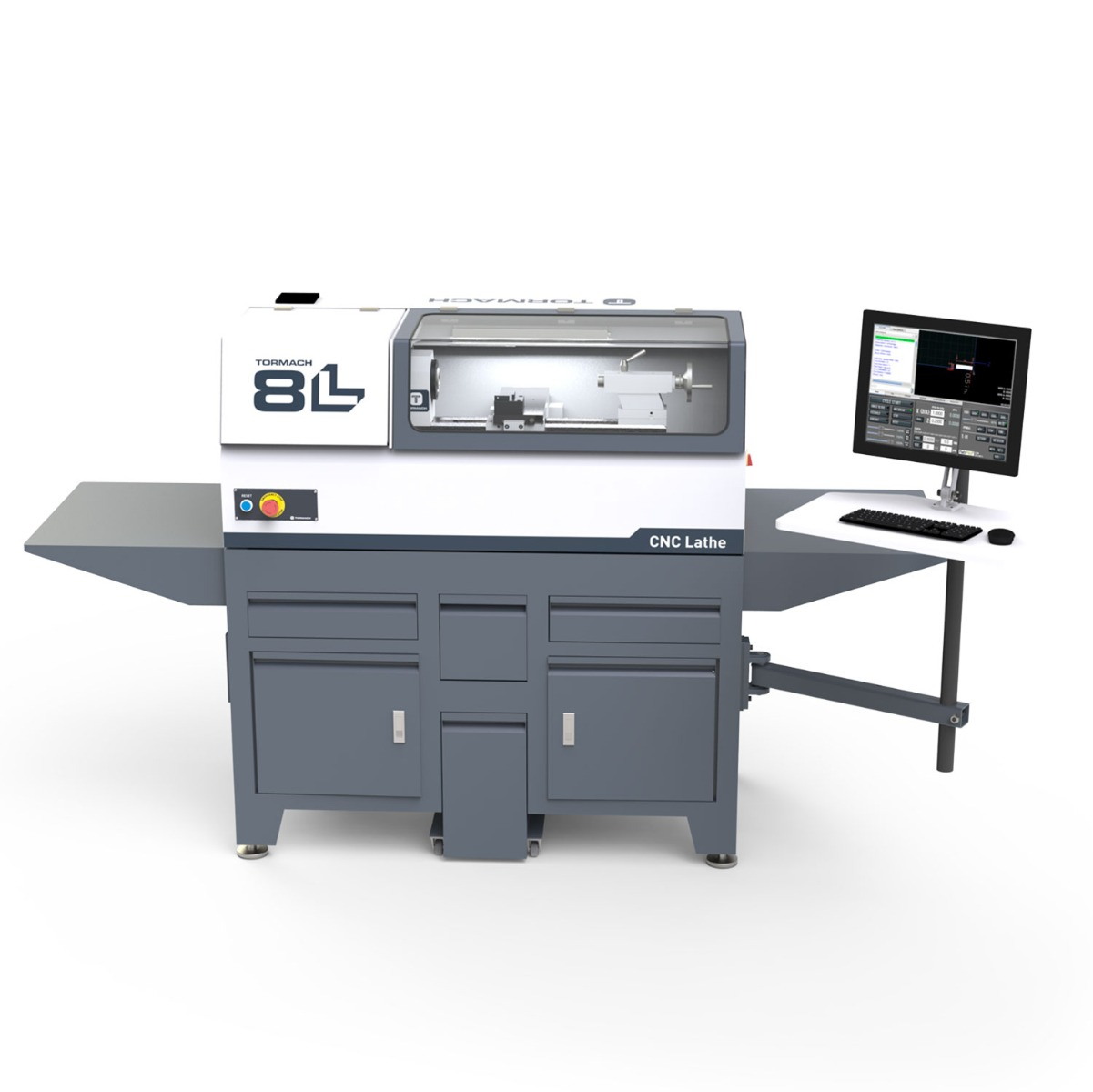 New 8L Lathe Deluxe Package from Tormach