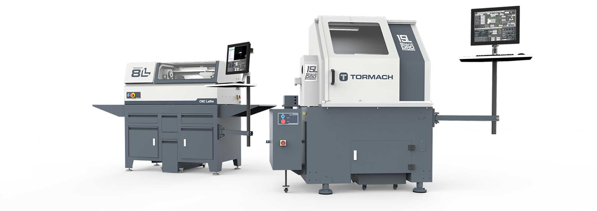 Tormach's Lathe Line-up including 15L Slant-PRO and 8L CNC lathe