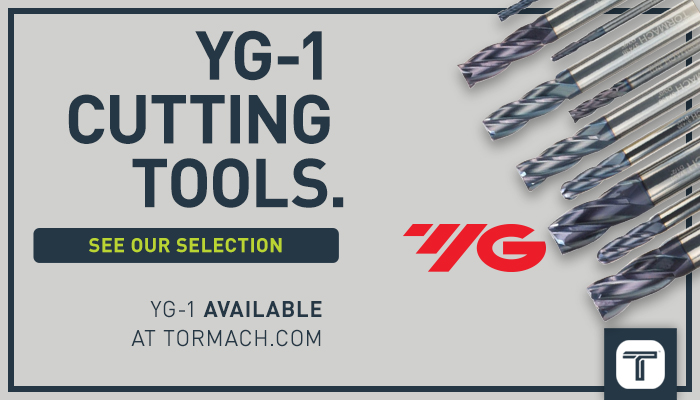 Tormach House Ad - YG-1 tooling
