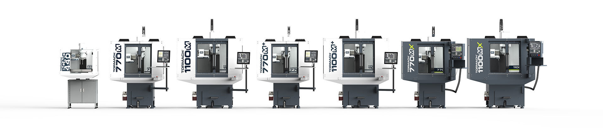 Tormach CNC Milling Machine Lineup